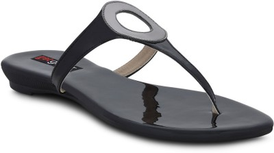Get Glamr Women Black Flats
