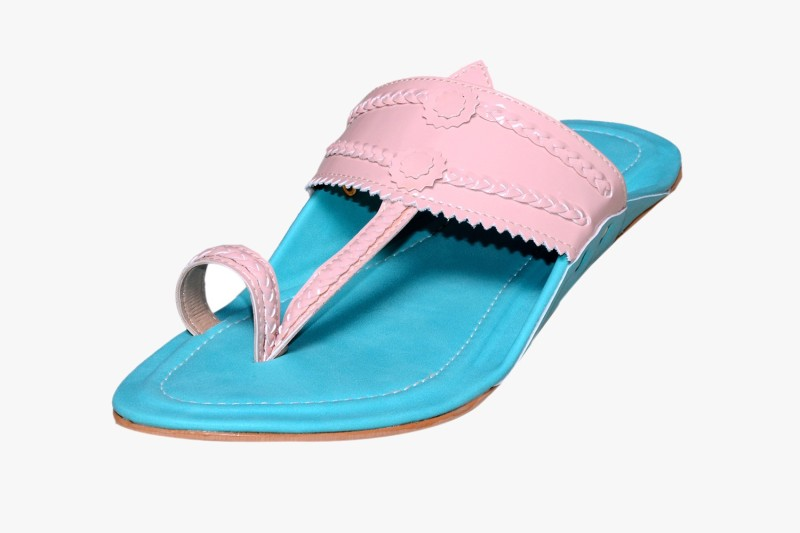 Visach Women Blue Flats