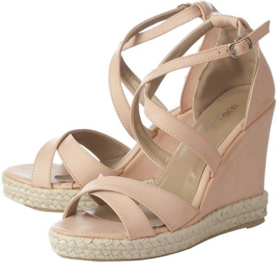 Vero Couture Women Pink Wedges