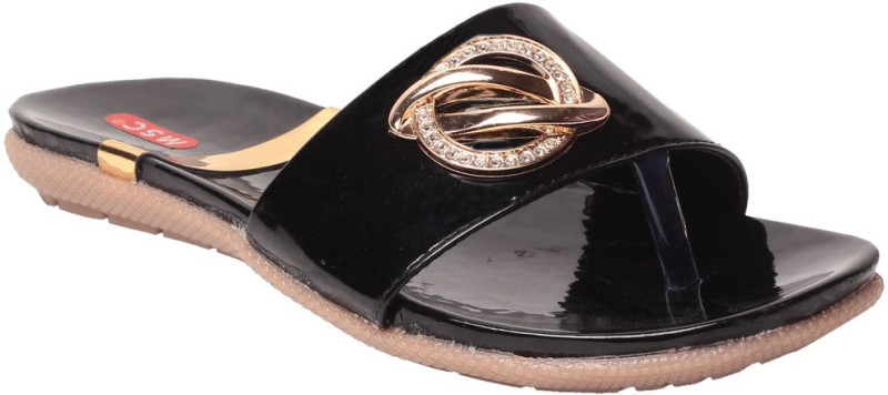 MSC Women Black Flats