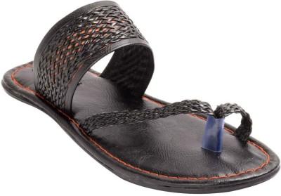 Claude Lorrain Men Black Sandals