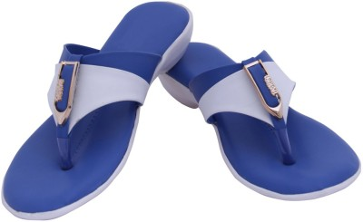 HITANSH INDIA Women Blue Flats