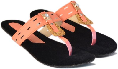 VANESSA Women Orange Flats