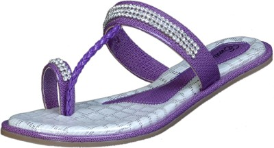 Exotique Women Purple Flats