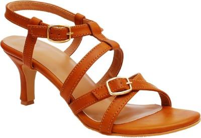 iLO Women Tan Heels