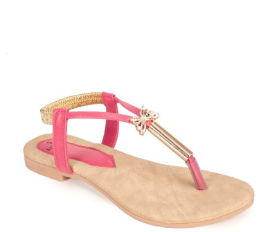 Rajdoot Women Pink Flats