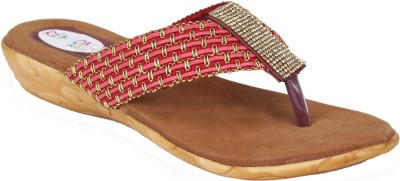 Remson India Women Red Flats