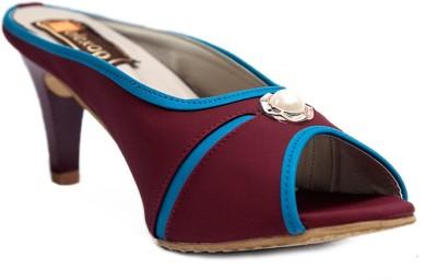 Relexop Women Maroon Heels