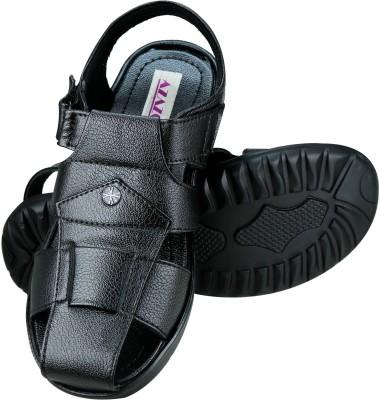 Azazo Men, Boys Black Sandals