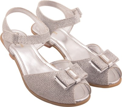 Kittens Girls Silver Sandals