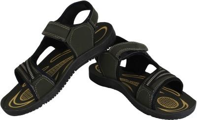 Vivaan Footwear Khaki-837 Men Khaki Sandals