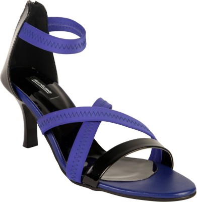 karizma shoes Women Blue Heels