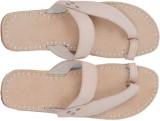 Paavdi Men White Sandals