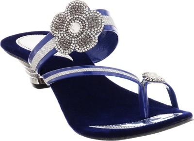 Brandvilla Women Blue Heels