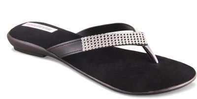 Pink Fever Women Black Flats