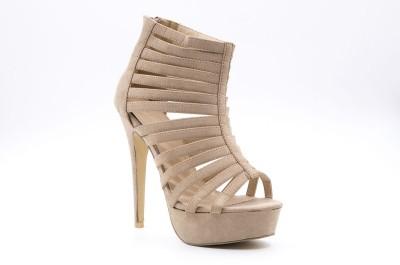 Belle Gambe Women Beige Heels