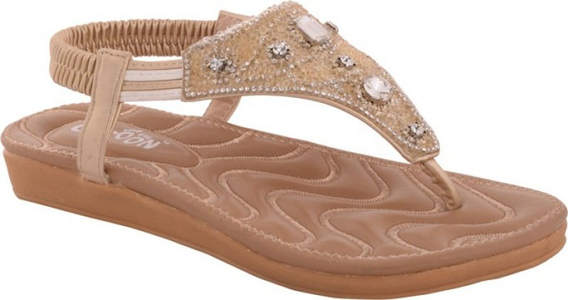 Cocoon Women Gold Flats