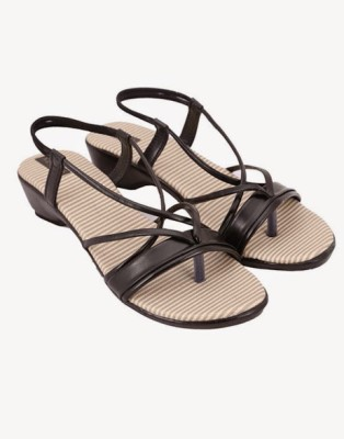 Azores Women Black Wedges