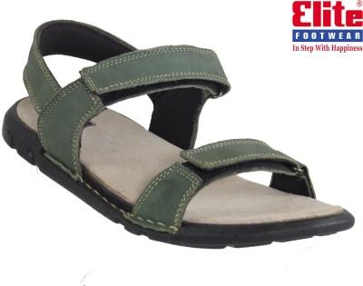 Elite Men Olive Sandals