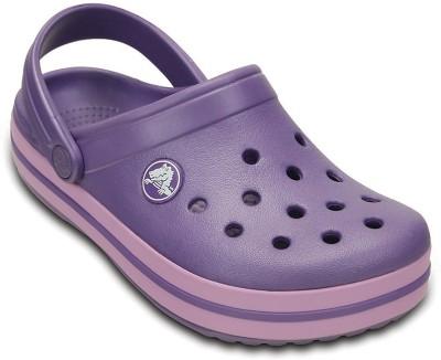 Crocs Baby Boys, Baby Girls Purple Sandals