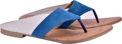 Fentacia Women Blue Flats