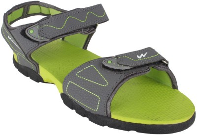 Action Campus Men Grey, Green Sandals