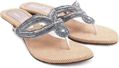 Bonjour Women Brown, Grey Heels