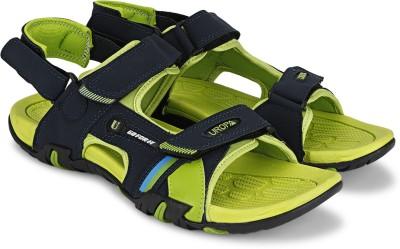Cozy Men Green, Blue Sandals
