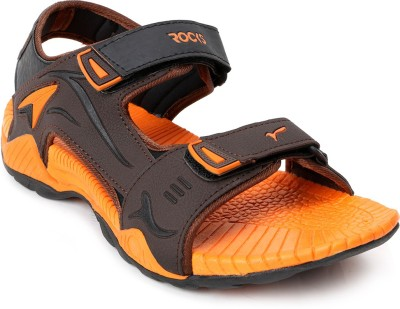 Welcome Men Brown, Orange Sandals
