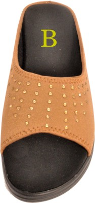 Bshoes Women Tan Wedges