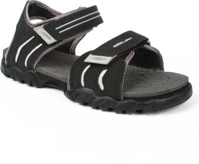 Mmojah Men Grey, Black Sandals