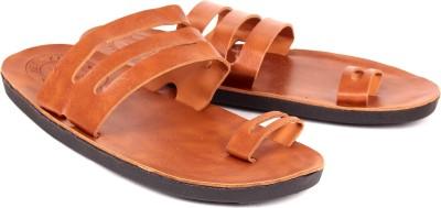 PORUS CLUB Men Tan Sandals