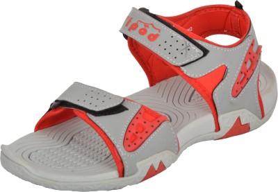Poddar Men Red Sandals