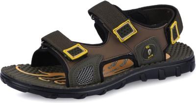 Pu Lite Today Men Green Target-1 Men Green Sandals