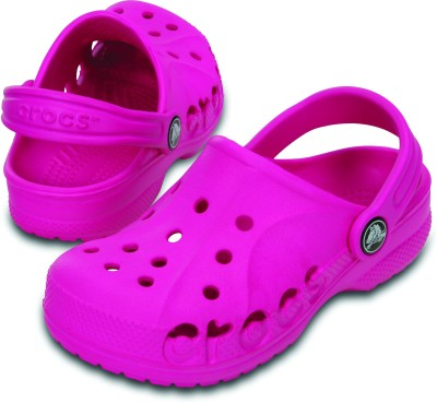 Crocs Baby Boys, Baby Girls Pink Sandals