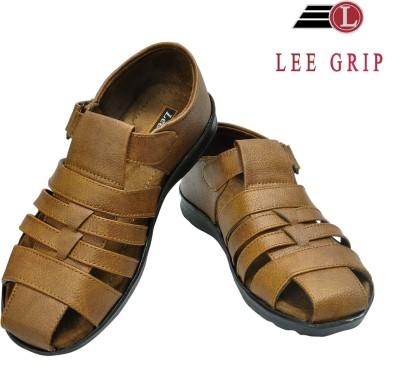 Lee Grip Men Beige Sandals