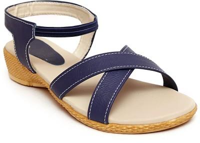 Trendy Women Blue Wedges