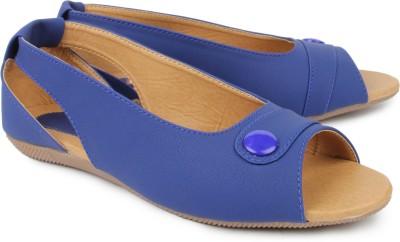 Hansfootnfit Women Blue Flats