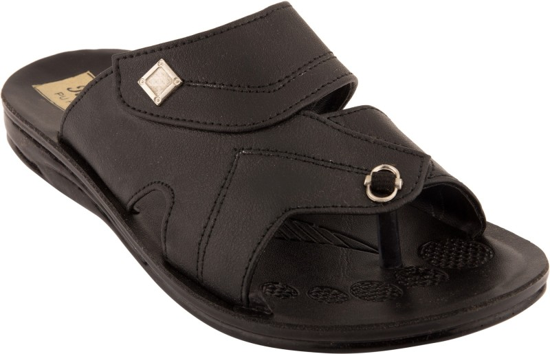 Roayals Men Black::Silver Sandals