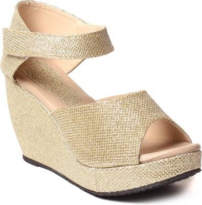 Comfort Women Gold Heels