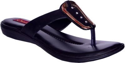 Credos Women Black Flats
