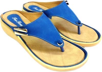 Russo Fashion Designer Women Blue Flats