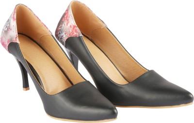 BD Fashion Women Black Heels