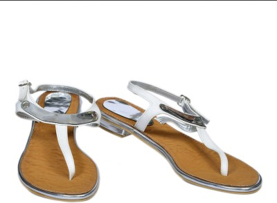 TSG Vinci Women Beige, White Flats