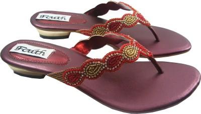 Faith 1000115 Women Maroon Heels