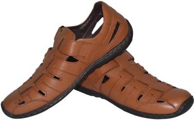 Jenfars Men Tan Sandals