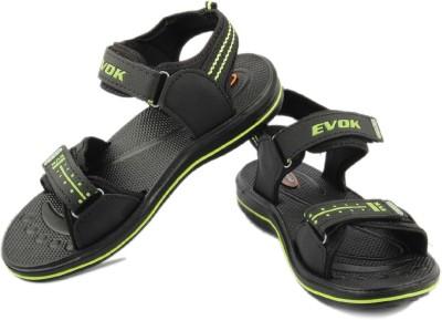 Kohinoor Men Black Sandals