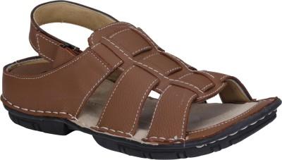Emosis Men Brown Sandals