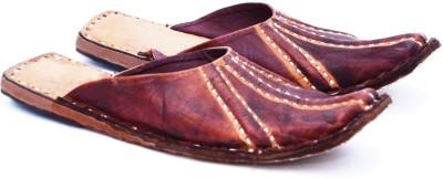 Manthana Men Brown Sandals
