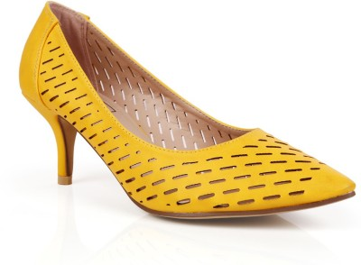 INTOTO Women Yellow Heels